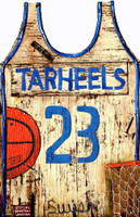 Vintage Basketball Jersey Sign