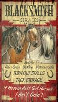 Vintage Horse Heaven Sign