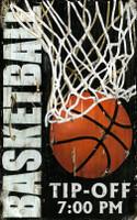 Vintage Basketball Room Sign