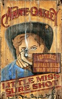 Vintage Annie Oakley Sign