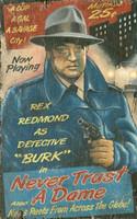Vintage Burke Sign