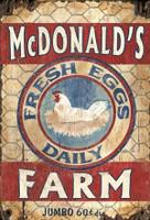 Vintage Egg Farm Sign
