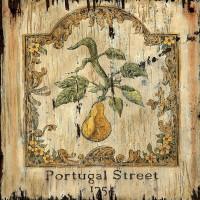 Vintage Pear Sign