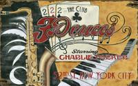 Vintage Deuces Sign