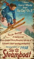 Vintage Steamboat Sign