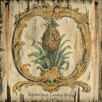 Vintage Pineapple Sign