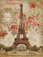 Vintage Dreaming Of Paris Sign