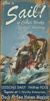 Vintage Sail Sign