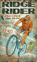 Vintage Mt. Bike Sign