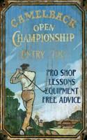 Vintage Camelback Golf Sign