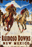 Vintage Horse Racing Sign