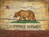 Vintage California Flag Sign
