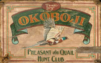 Vintage Pheasant Sign