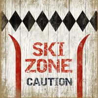 Vintage Ski Zone  #6 Sign