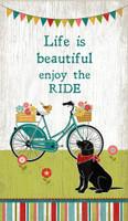 Vintage Enjoy the Ride Sign