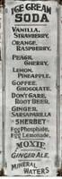 Vintage Ice Cream Sign