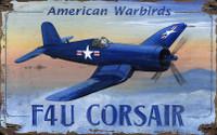 Vintage Corsair Sign