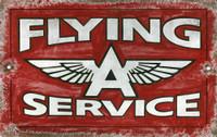 Vintage Flying A Sign