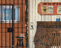 Vintage Jailhouse Sign