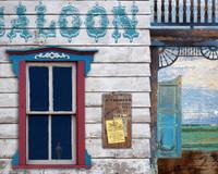 Vintage Saloon Sign