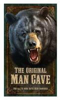 Vintage Man Cave Sign