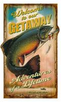 Vintage Getaway Sign