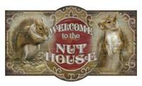 Vintage Nut House Sign
