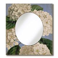 Vintage Hydrangea Mirror