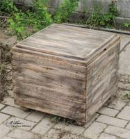 Uttermost Avner Wooden Cube Table