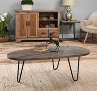 Uttermost Leveni Wooden Coffee Table