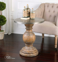 Uttermost Blythe Wooden Accent Table
