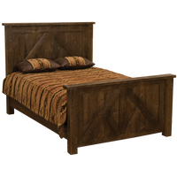 Frontier Timber Frame Bed