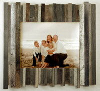 Attractive Beachcomber Reclaimed Wood Frame 8x10 Barnwood Great Pictures