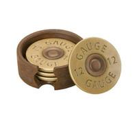 Shot gun shell coasters