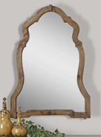 Uttermost Agustin Light Walnut Mirror