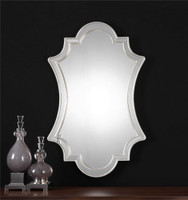 Uttermost Elara Antiqued Silver Wall Mirror