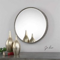 Uttermost Nova Round Metal Mirror