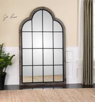 Uttermost Barwell Arch Window Mirror Mybarnwoodframes Com