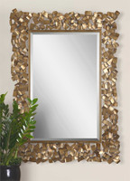 Uttermost Capulin Antique Gold Mirror