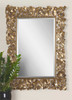 Uttermost Capulin Antique Gold Mirror