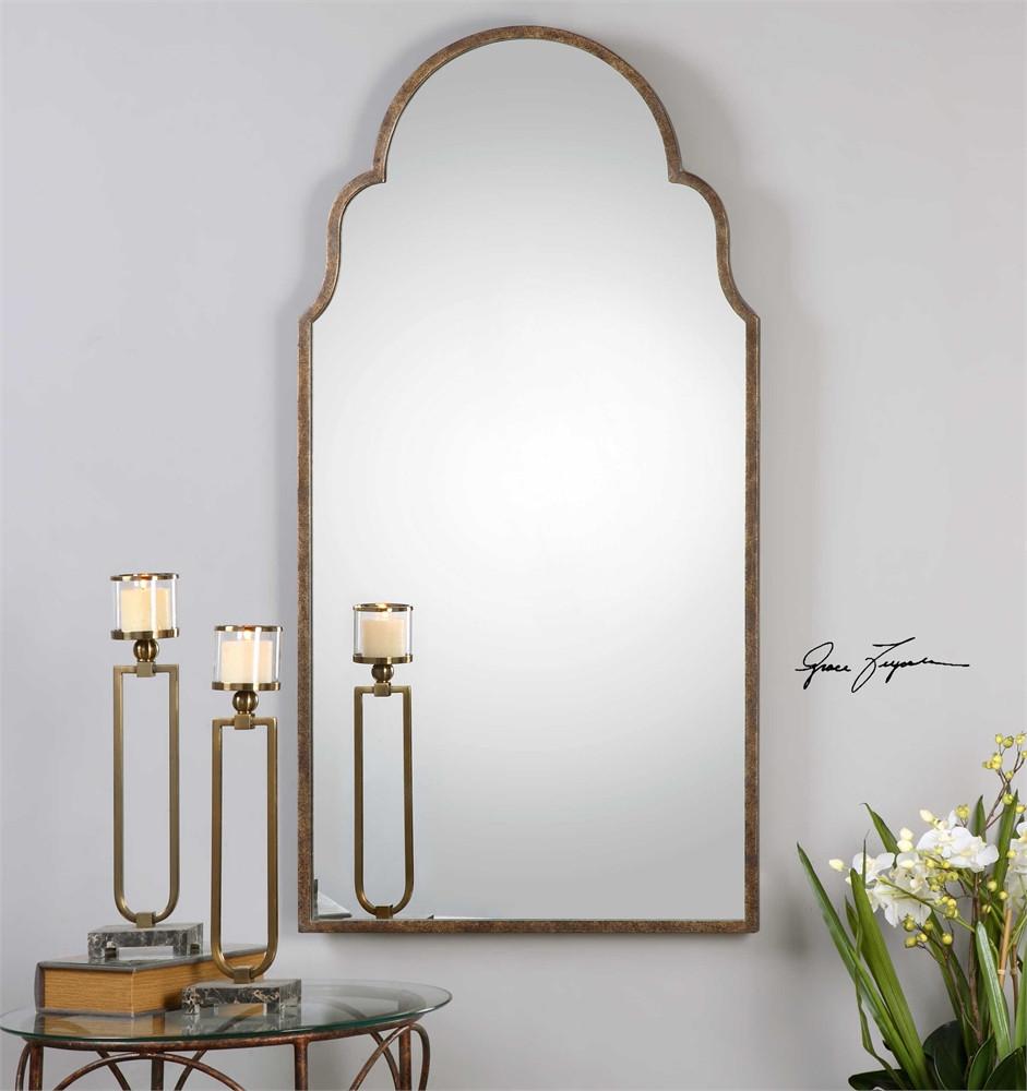 Uttermost Brayden Tall Arch Mirror Mybarnwoodframes Com