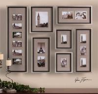 Uttermost Massena Photo Frame Collage, S/7