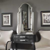 Uttermost Brayden Arched Silver Mirror