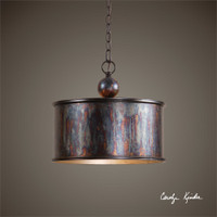 Uttermost Albiano 1 Light Oxidized Bronze Pendant