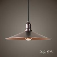 Uttermost Barnstead 1 Light Copper Pendant