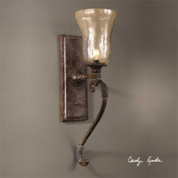 Uttermost Galeana Glass Wall Sconces
