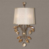 Uttermost Alenya 2 Light Gold Wall Sconce