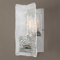 Uttermost Cheminee 1 Light Textured Glass Sconce