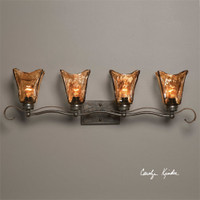 Uttermost Vetraio 4 Light Bronze Vanity Strip