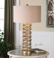 Uttermost Amarey Metal Ring Table Lamp